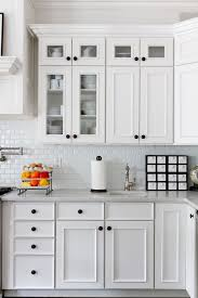 black cabinet hardware.  Hardware Subway Tile Kitchen Kitchen Traditional With All White Beautiful  Frameless Cabinets Cabinet In Black Hardware K