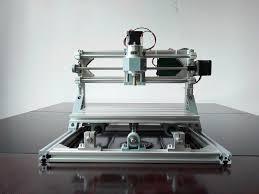 hobby diy cnc 2418 mini 3 axis cnc router kit pcb milling wood carving machine