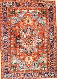 room size antique heriz rug