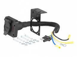 curt trailer hitch wiring ewiring honda crv 2007 2017 wiring kit harness curt mfg 55106 2010
