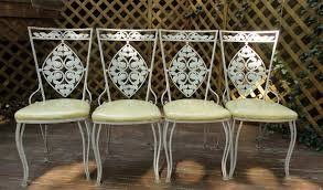 vintage woodard wrought iron patio furniture