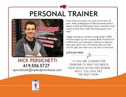 Personal Trainer Biography Example Personal Trainer Biography Examples Resume Examples