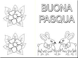 Biglietti Pasquali Da Stampare E Colorare Con I Bambini Pourfemme