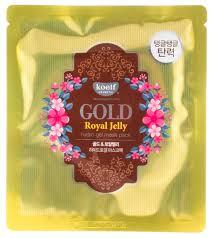 <b>KOELF Gold</b> & Royal Jelly Hydro Gel Mask Pack <b>Гидрогелевая</b> ...