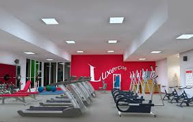 home gym lighting. Abs-solutely Flat Home Gym Lighting A