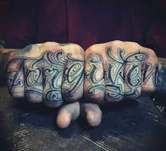 top 101 best knuckle tattoos ideas