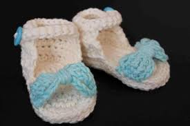 Free Crochet Patterns For Baby Sandals Magnificent Design