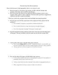 Format For Narrative Essay Peer Evaluation Form Best Classroom Peer ...