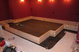 home theater platform. platform kit seatup help me design my home theater planning stage page 5 avs t