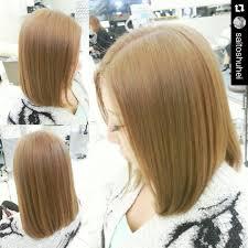 前髪なしのミディアムヘア髪型19選パーマボブ黒髪のアレンジなど