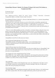 resumes posted online