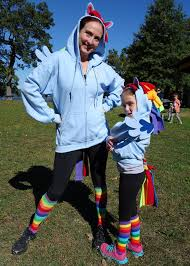 easy my little pony costume for s and kids