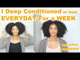 i deep conditioned my natural hair