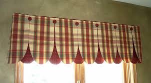 Valance Kitchen Curtains Plaid Kitchen Curtains Valances Cliff Kitchen