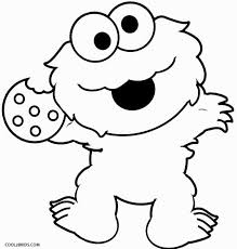 Monster Coloring Sheets Monster Coloring Sheets Marvelous Cookie