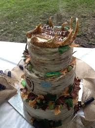 Hunting And Fishing Theme Grooms Cake Cakecentralcom