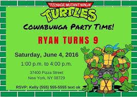 Ninja Turtle Quotes Delectable NinjaTurtleBabyShowerInvitationsNinjaTurtlesInvitation