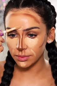 playing around with contour lines is easy contours makeup and makeup ideas