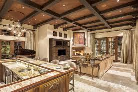 mediterranean lighting. Luxury Custom Home, Mediterranean Style. Architecture By Fratantoni Design. Beautiful Family Room With Lighting