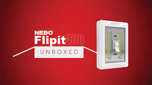 Atomic Light Switch Nebo Unboxed Flipit400 Portable Cob Led Light Switch