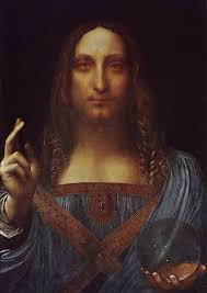 salvator mundi saviour of the world leonardo da vinci painting