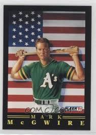 Maybe you would like to learn more about one of these? 1991 Fleer Pro Vision 4 Mark Mcgwire
