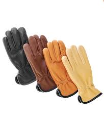 merino wool lined deerskin gloves