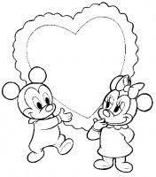 Baby Disney Disegni Da Colorare Per Bambini Dei Baby Disney