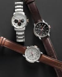 the bleecker stainless steel chrono strap watch from coach 398 coach bleeker