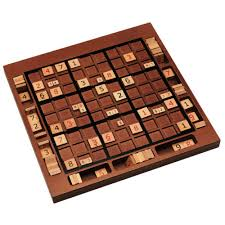 Sudoku Wooden Board Game Instructions Sudoku Wood Expressions 59