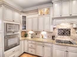 all wood kitchen cabinets online. White_Shaker, FrenchVanillaChocolateMist2.jpg, Vanilla Distressed All Wood Kitchen Cabinets Online