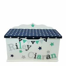 Baby and Kids First Furniture Beautiful Personalised toy Box