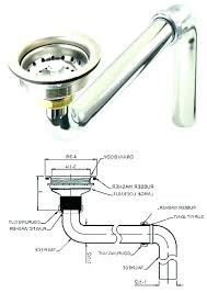 leaking bathroom sink drain j trap p with regard to parts ideas 41