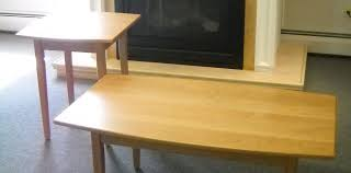 what is shaker furniture. Cherry Boat Shaped Coffee And End Table What Is Shaker Furniture