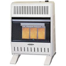 reddy heater 18 000 20 000 btu infrared dual fuel wall heater with blower
