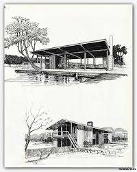 modern architecture drawing. Delighful Architecture 1960 Architectural Drawing Rendering Mid Century Modern Retro Vintage  Atomic  EBay Throughout Architecture R