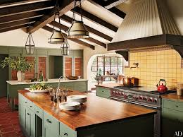 kitchen pendant lighting images. the kitchen in a spanishinspired hollywood home is decorated with paul ferrante pendant lamps lighting images