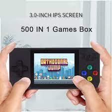 Máy chơi game cầm tay 2 người chơi retro 500 trò - Máy game điện tử 4