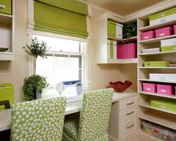 home office craft room ideas. for the home officearts room soooo pretty with apple greenhot pinkwhite color motif office craft ideas o