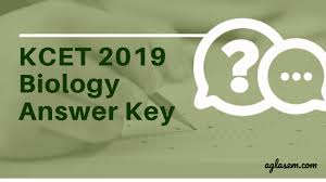 KCET 2019 Biology Answer Key (Released) – Get Here for All Sets ...