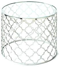 silver round end table silver round end table inspiring side table with regency silver beveled glass
