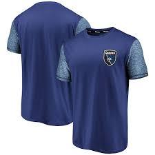Jose Fanatics Color T-shirt San Blast Men's Branded Earthquakes Blue