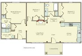 small house plans with garage. Brilliant Plans 3 Bedroom House Plans No Garage To Small With E