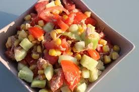 Repas Du Soir Light Salade De Thon Coloree Les Petits Plaisirs De Doro