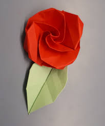 Paper Folded Flower Origami Flower 13 Steps With Pictures