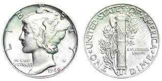 1940 Mercury Silver Dime Coin Value Prices Photos Info