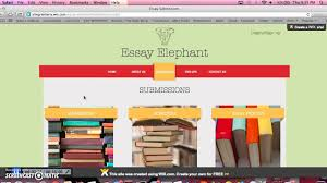 essay elephant tutorial