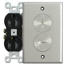 brushed nickel outlet covers.  Outlet Intended Brushed Nickel Outlet Covers L