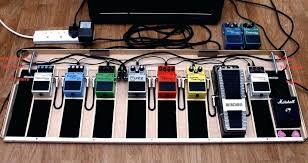 guitar effects pedals board pedal update by diy