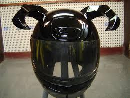 custom painted motorcycle helmet for toro s motorcycle club
